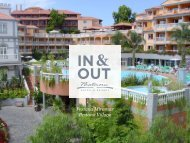 In & Out do Pestana Village - Pestana Hotels & Resorts