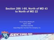 Presentation - Maryland Transportation Authority