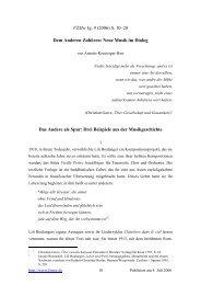 Dem Anderen Zuhören: Neue Musik im Dialog [PDF] - FZMw ...