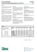 Clorius ISC2100 Scalable Building Management ... - Clorius Controls - Page 2