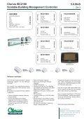 Clorius ISC2100 Scalable Building Management ... - Clorius Controls - Page 3