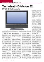 Technisat HD-Vision 32 - TELE-satellite International Magazine