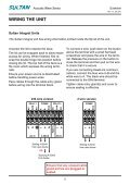 Quickstart Sultan - Hawk Measurement - Page 6
