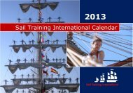 STI Calendar 2013 - Sail Training International