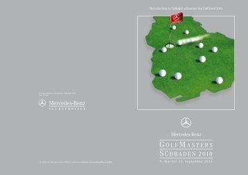 golfmasters südbaden 2010 - Mercedes-Benz Niederlassung Freiburg