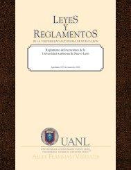 Reglamento de Invenciones de la U.A.N.L. - Universidad Autónoma ...