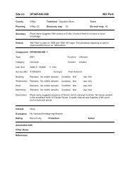Site no OFIAR-042-008 Mill Park - Offaly County Council