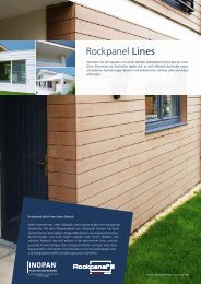 Rockpanel Lines - Inopan