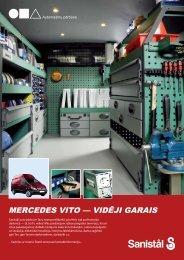 Mercedes Vito vidēji garais - Auto pārbūve - Sanistal
