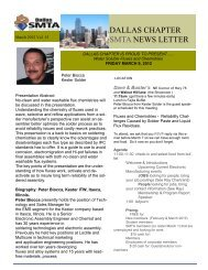 March 2012 Newsletter - SMTA
