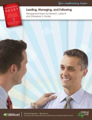 Leading, Managing, and Following Your complimentary chapter