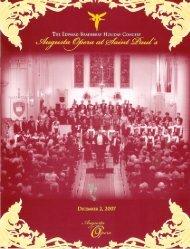 Augusta Opera at Saint Paul's. - Richard Repp