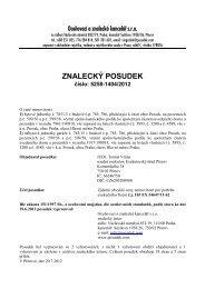 ZNALECKÝ POSUDEK číslo: 5258-1404/2012 - OKdrazby.cz