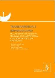 TRANSPARENCIA E IMPARCIALIDAD - Alternativas y Capacidades