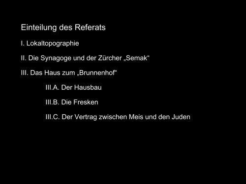 Referat - Winterthurer Fortbildungskurs