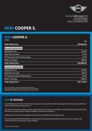 mini cooper s. - MINI.my