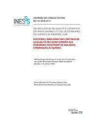 Méthodologie utilisée pour la recension et l'évaluation des ... - INESSS