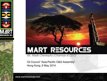 Dan Maling - Mart Resources