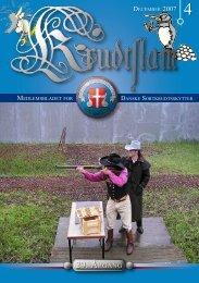 Krudtslam Nr. 4-2007 - Forbundet Af Danske Sortkrudtskytteforeninger