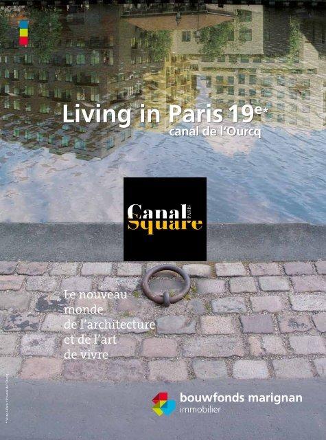 Living in Paris 19e* canal de l'Ourcq - Haussmann Patrimoine