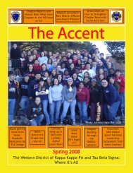 Spring 2008 - The Western District » Kappa Kappa Psi   Tau Beta ...