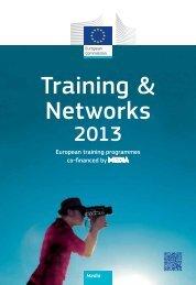 MEDIA Training & Networks 2013 - European Commission - Europa