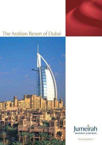The Arabian Resort of Dubai - OBrochure