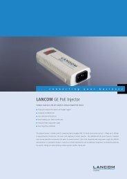 GE PoE Injector - 7.5 - LANCOM Systems