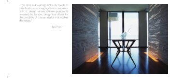 Luis Pons Architecture - Tracy Oats Communications