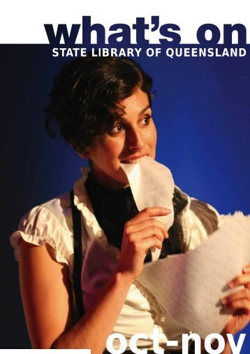 events - State Library of Queensland - Queensland Government