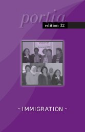 IMMIGRATION - Victorian Women Lawyers
