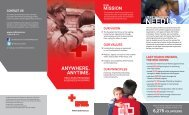 Ontario Zone Programs & Services Brochures - Canadian Red Cross