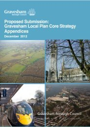 Proposed Submission Gravesham Local Plan Core Strategy