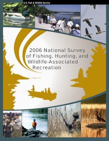 2006 National Survey - Wildlife and Sport Fish Restoration Program