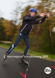 Norrmejerier årsredovisning 2003