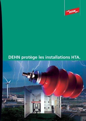 DEHN protège les installations HTA.