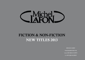 Fiction & non-Fiction new titles 2013 - Anastasia Lester Literary ...