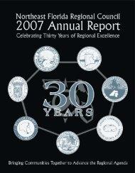 2007 Annual Report - Northeast Florida Regional Council