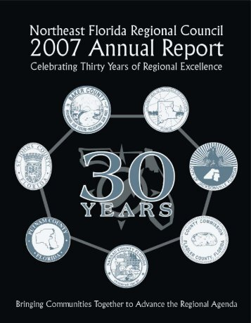 2007 Annual Report - Northeast Florida Regional Council