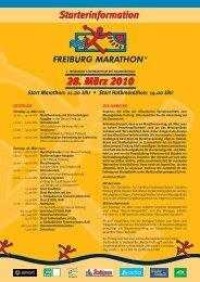 28. März 2010 Start Marathon: 11.20 Uhr • Start ... - Amiando