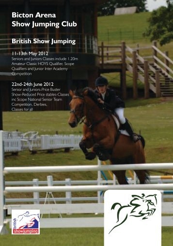 Bicton Arena Show Jumping Club - Horse Events UK