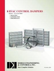 HVAC Control Dampers - Dodge Engineering & Controls, Inc.