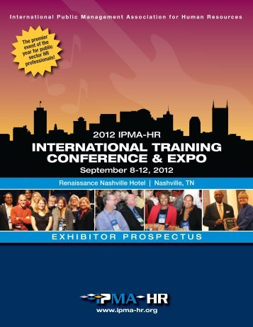 2012 IPMA-HR International Training Conference & Expo