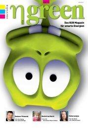 Das B2B Magazin für smarte Energien - η green