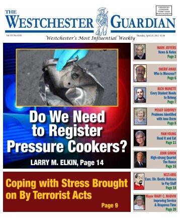 April 25, 2013 - WestchesterGuardian.com