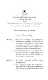 peraturan pemerintah republik indonesia nomor 4 tahun 2005 tentang