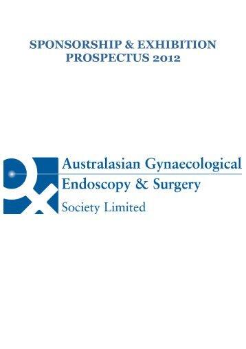 SPONSORSHIP & EXHIBITION PROSPECTUS 2012 - AGES