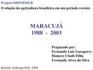 MARACUJÁ 1988 - 2003 - Embrapa