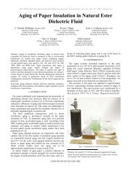 Aging of Paper Insulation in Natural Ester Dielectric Fluid - SPX ...