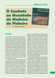 O Combate ao Nemátodo da Madeira do Pinheiro, por Miguel ... - CNA